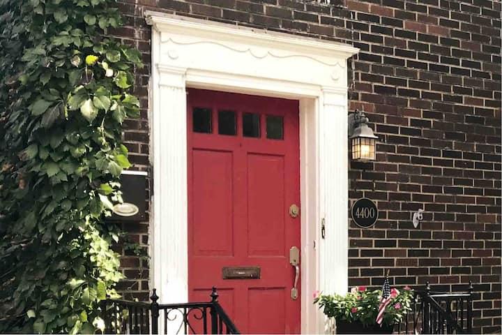 Spacious Red Door Apartment