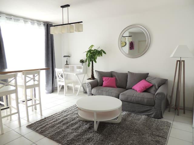 Bel appartement à Toulouse pour 2 ou 4 personnes