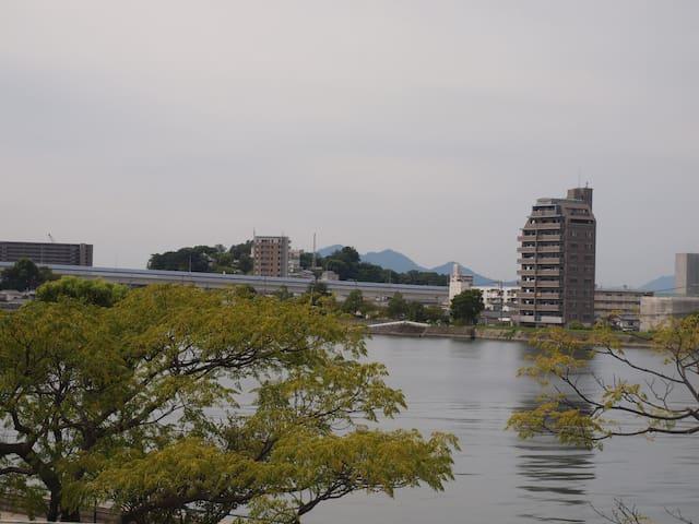 Maison Yoshijima 301 (メゾン吉島 301) - Hiroshima Naka-ku - Leilighet