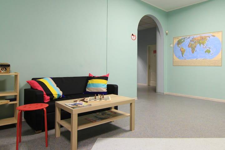Двухместный номер с раздельными кроватями в Хостел Измайловский Парк