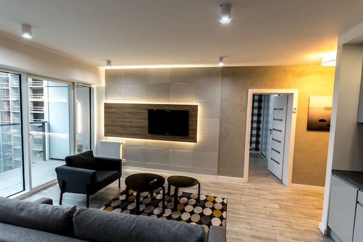 Apartament typu Delux z 1 sypialnią