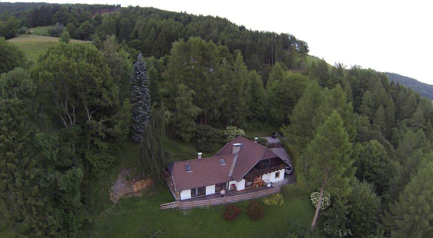 Urig gemütliches Haus am Berg