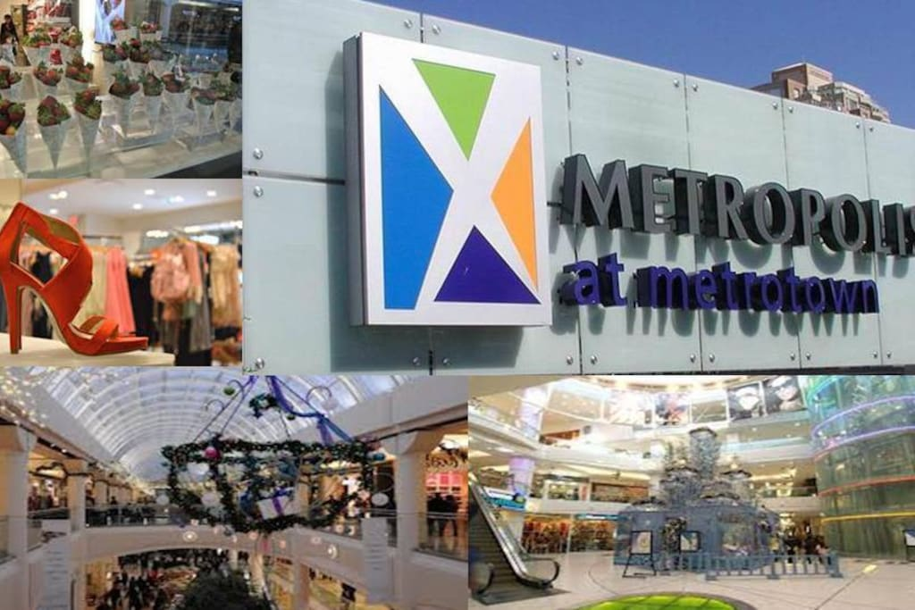 Metropolis@metrotown  - the largest mall in Vancouver