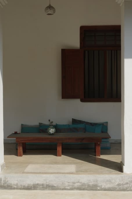 Front patio, perfect spot to spend a lazy mornings and chilled out evenings