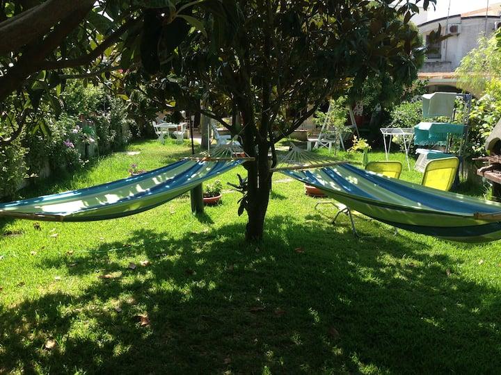 Mare,giardino,scuola kite e relax.C4(senza cucina)