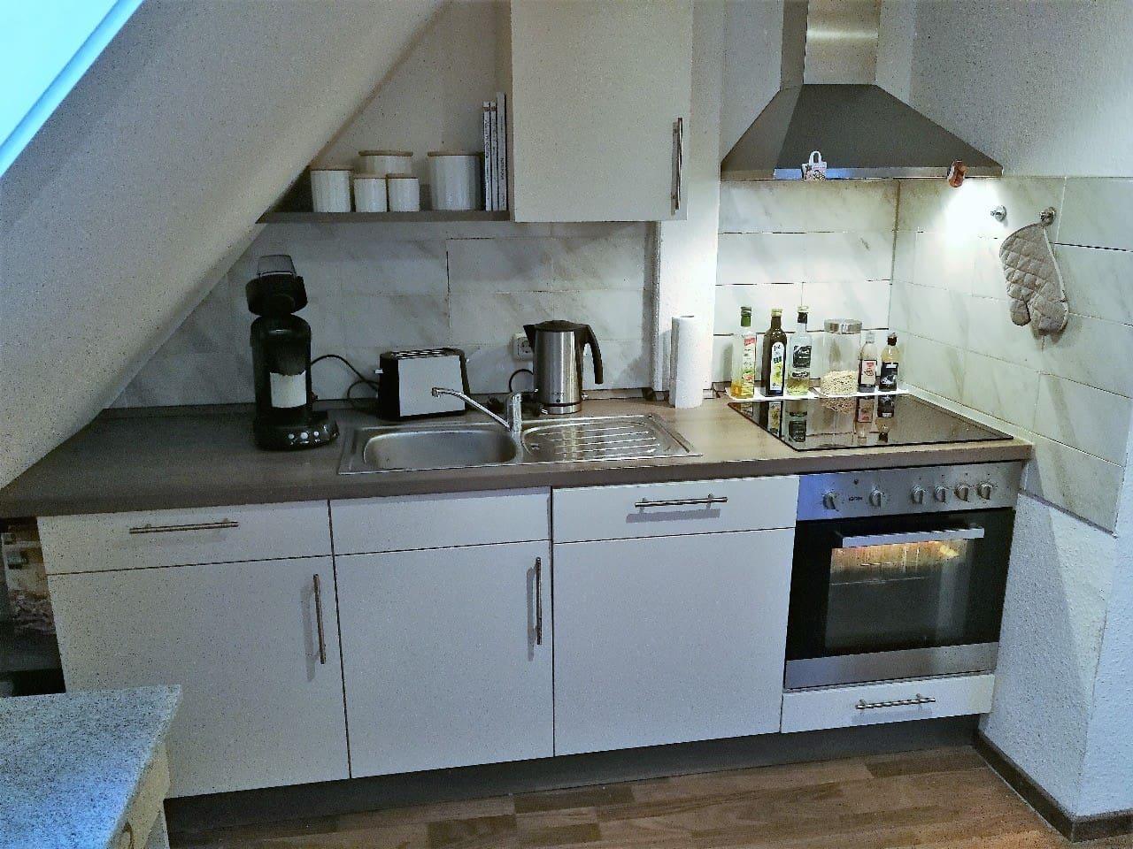 Unsere Küche mit Spülmaschine