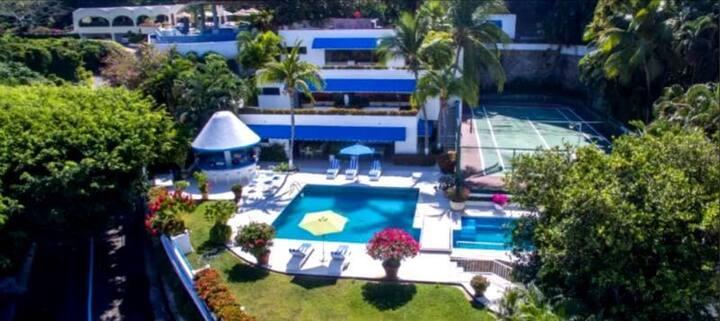 Villa privada con acceso a playa