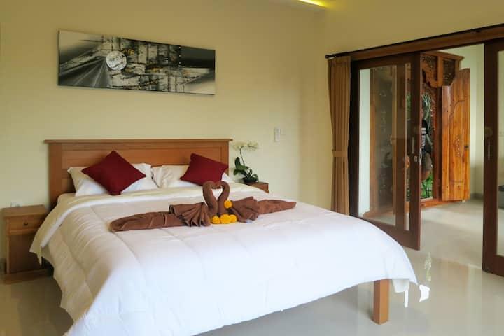 Ubud Room, Jungle View & Affordable / 1st Floor B