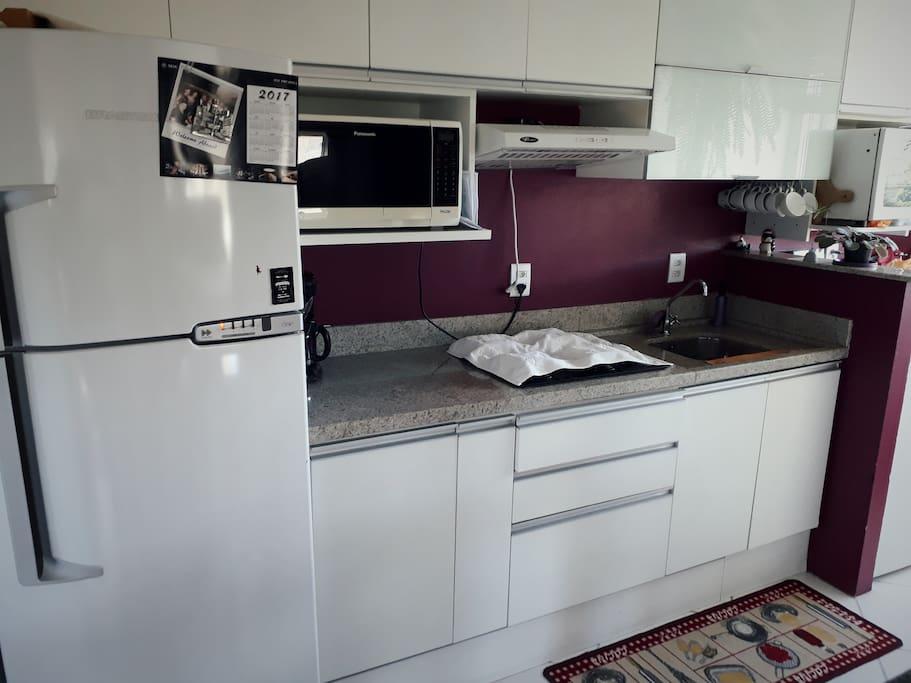Cozinha prática e eficiente