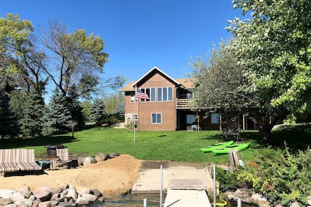 Waterfront Big Stone Lake Home w/Dock & Views