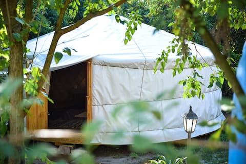 Yurta en la Gran Llanura