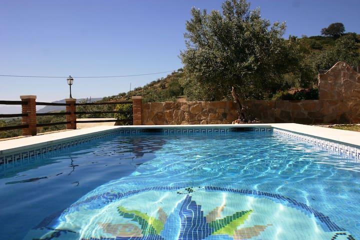 Rustic Villa in Alora with Swimming Pool
