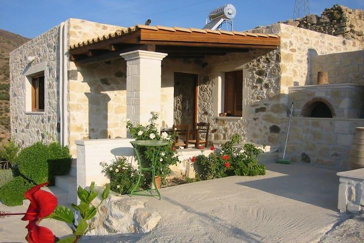 Steinhaus im 'wilden' Süden Kretas - Koutsouras