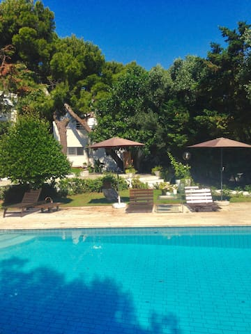 Delightful Pool Guesthouse close to the sea