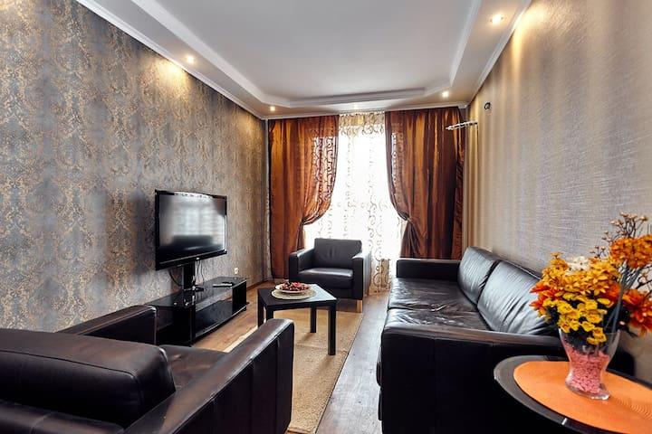 Уютнейшая квартира на Красной