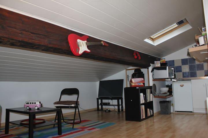 Loft situé à 500 mètres de Gambetta - Μπορντό - Διαμέρισμα