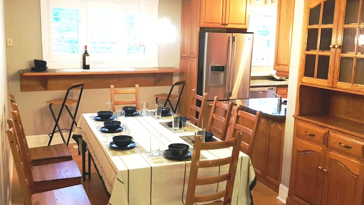 Solid three bedrooms close to ski hills and more
