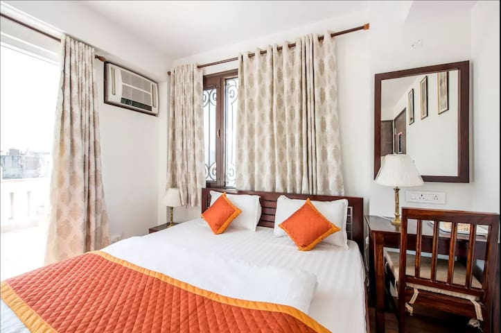 * Private Room, bathroom with Large Terrace