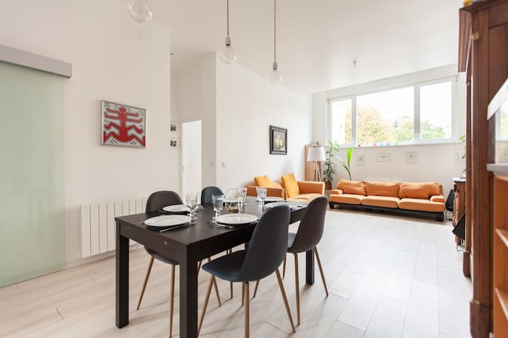 New cosy appartment 120m2 in Strasburg-Orangerie - Strasbourg - Apartment