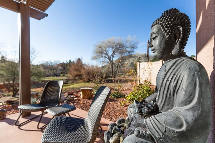 Zen calling? Look inside this private home for 6!