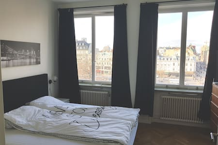Huge bedroom in center of Malmö