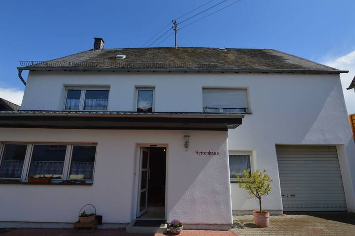 Comfortable house with a large fenced garden in beautiful Hünruck