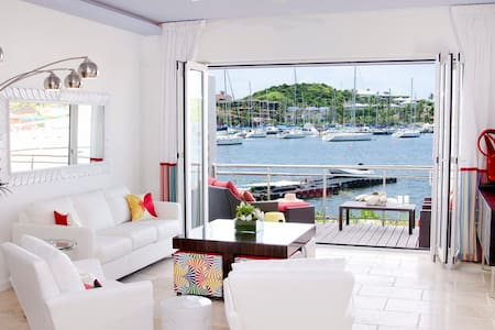 Townhouse Corinne - Ideal for Couples and Families, Beautiful Pool and Beach - Dawn Beach - Townhouse