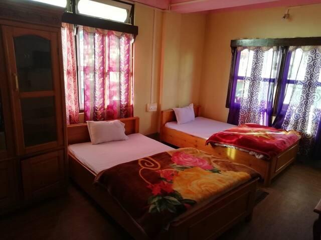 Hotel in Tawang - Monastery view