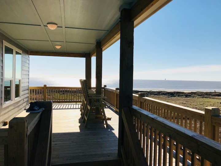 All Decked Out -New Construction Beach Front Home