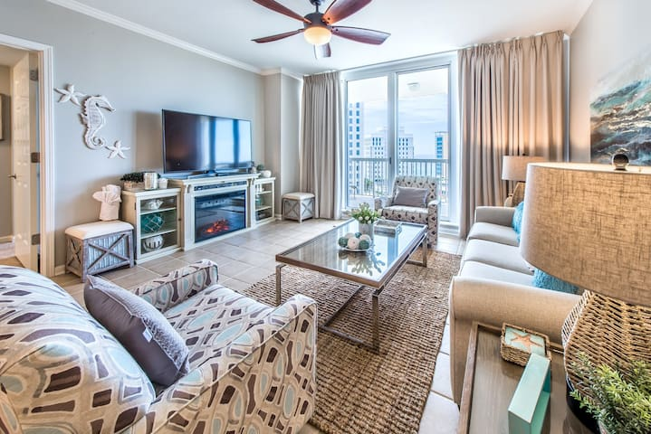 St. Lucia 802-2BR in Silver Shells-Apr 8 to 11 $782! Gulf VIEWS-1000ft of Beach