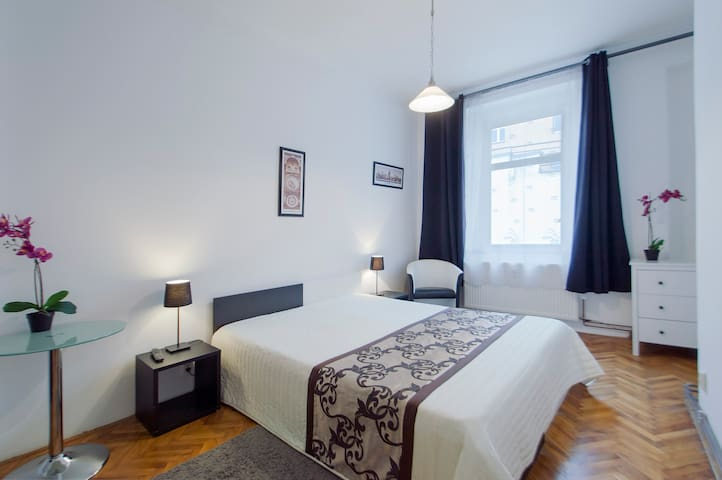 Cozy apartment Skolska for two!