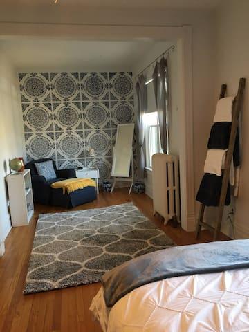 Bedroom suite very spacious