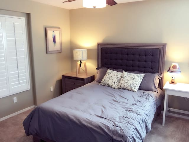 cozy&clean room 2 - Rancho Cucamonga - House