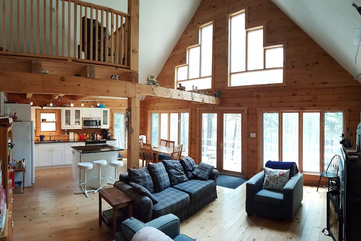 Gorgeous Log Home on Private Lake - Arden - Kabin