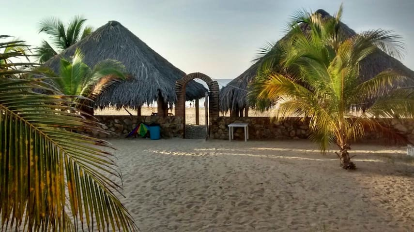 Habitación privada, orilla de playa