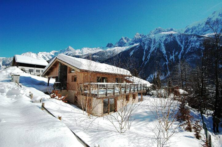 La Corbette, 4 bed chalet with sauna & MB views! - Chamonix-Mont-Blanc - Chalet