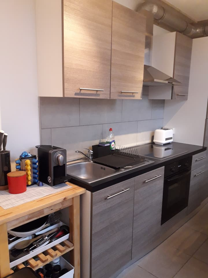 Appartement agréable et spacieux à 5 min SHAPE