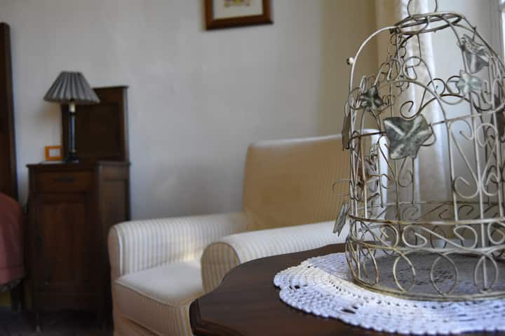 """Country apartment """"Margherite"""" with stunning view"""