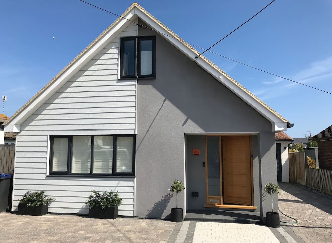 Bedroom Suite Two is upstairs in Tuckshore near Tankerton seafront.  Modern house providing smart, clean bedroom suite only.