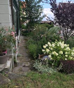 """Gartenwohnung """"Zum Grünen Haus"""" - Walzenhausen - Maison"""