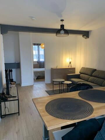 Appartement rénové Clemenceau/République