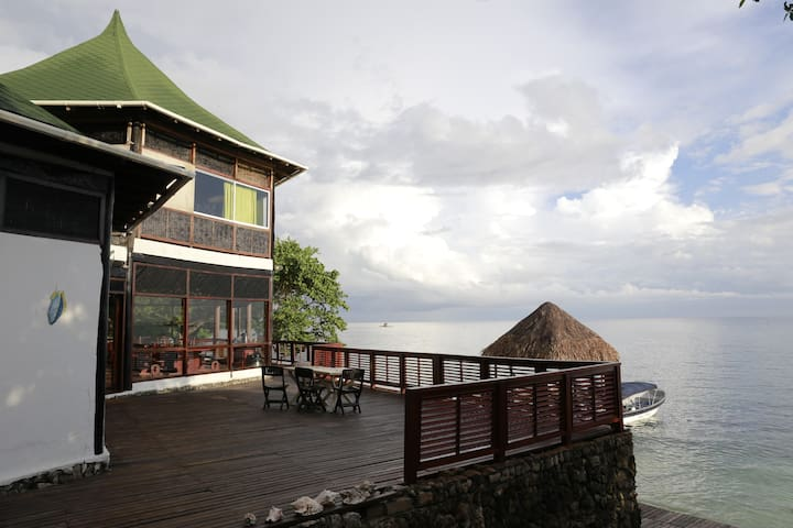 Casa Blanca, Islas del Rosario - Isla - Дом