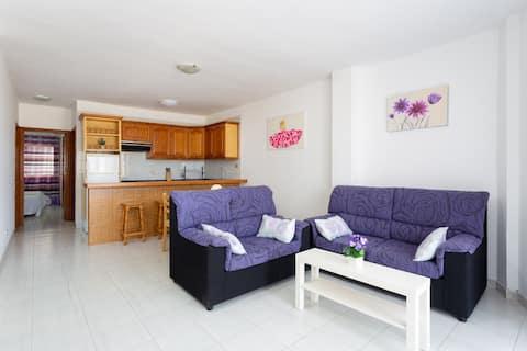 Apartamento Lila. Vista mar con 2 habitaciones