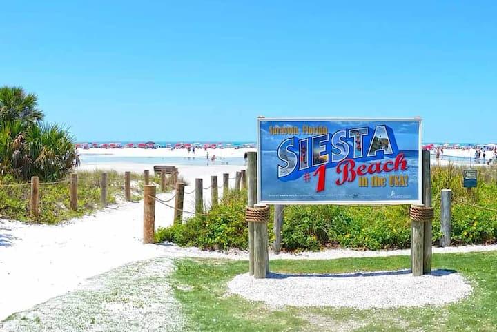 Seaside on Siesta Key Beach