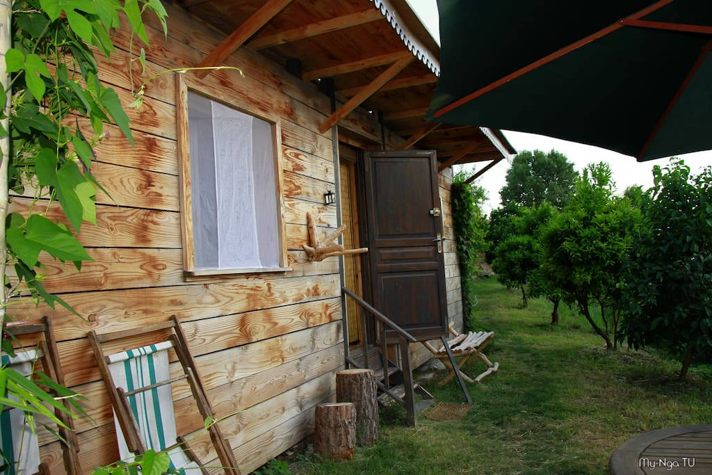 La cabane du potager agriculture bio chambres d for Chambre d hotes nice