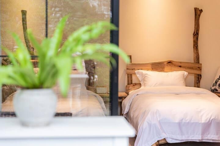 春萌 温暖舒适标准双床房
