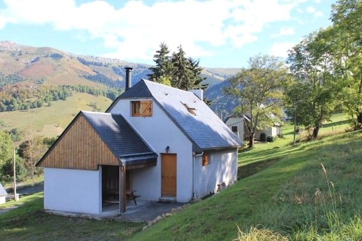 Maison-chalet Pyrénées, incroyable vue panoramique