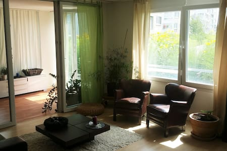 Beautiful and afordable room in my appartement - Opfikon - อพาร์ทเมนท์