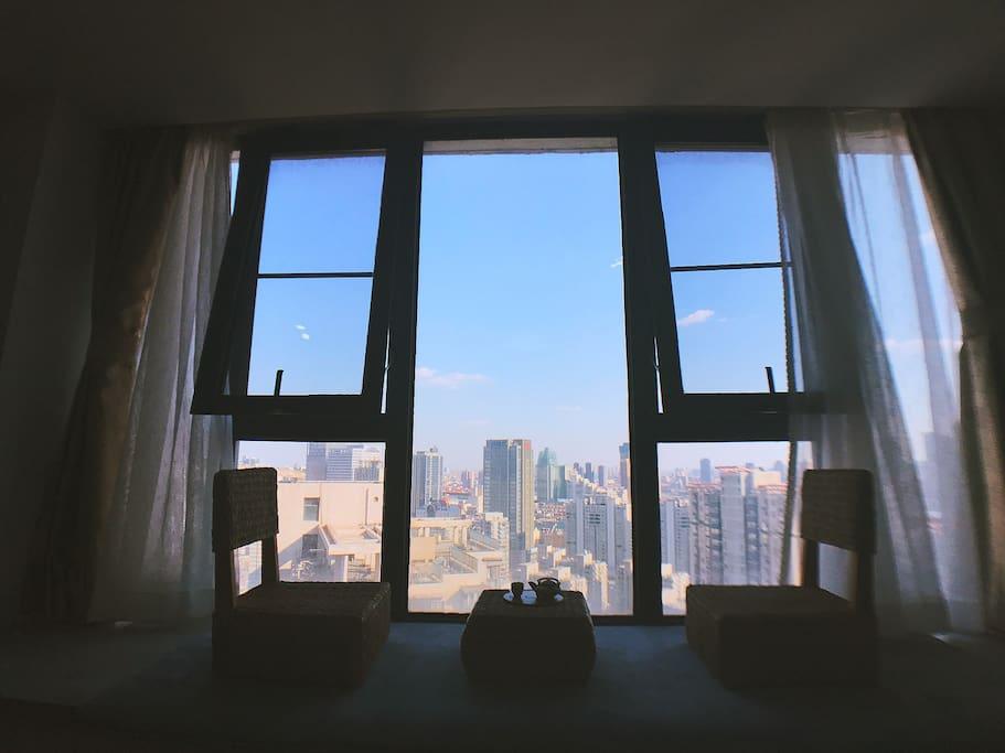 无敌景观,所见即所得,早晨的阳光值得一晒