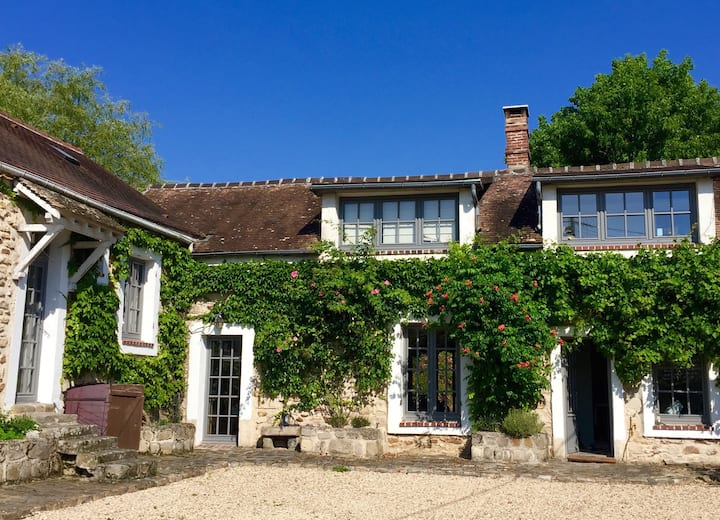 Barbizon, Fontainebleau, Charming country house